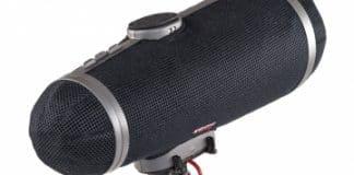 The Cyclone sistema anti-viento de Rycote idóneo para micrófonos