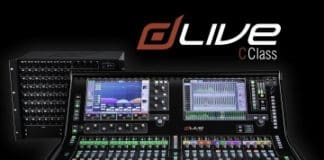 Sistemas de mezcla compactos dLive C Class nueva gama