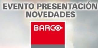 Evento presentación de novedades BARCO en Madrid