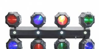 Contest Flashbeam: 8 LED + 4 Strobo