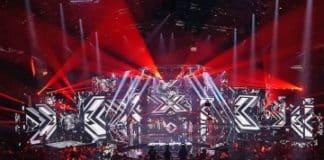 Cabezas móviles DTS Lighting iluminan el Factor X 2016