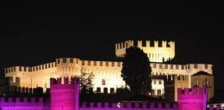La magia del color ilumina el Castillo de Gradara con proyectores DTS