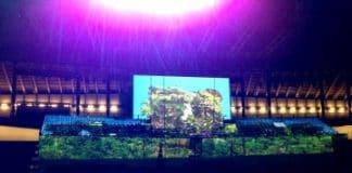 Christie revoluciona la ceremonia inaugural del Mundial de Natación