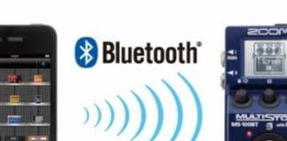 Nuevo pedal multiefectos MS 100BT con tecnología Bluetooth de Zoom