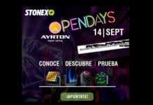 Ayrton Opendays luz, color y efectos con Stonex iluminación