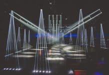 Nueva instalacion de iluminación en la discoteca Bootshaus nightclub