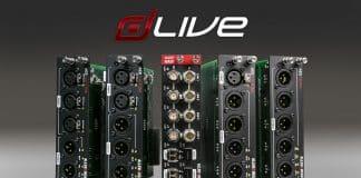 Allen & Heath amplía las opciones de interfaces para dLive