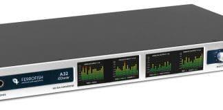 Conversor FERROFISH A32 DANTE novedad en el mundo del audio