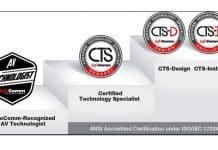 Curso CTS ® Preparación en We School creación, operación y mantenimiento de soluciones AV