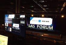 proyectores audiovisuales BARCO y blending a cargo de SONO