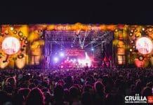 Pantalla de LEDs de SONO en el Cruïlla Summer Festival de Barcelona