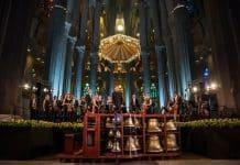 Sonorización del Concierto de Carrillón celebrado en la Sagrada Familia a cargo de SONO