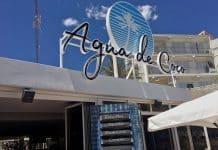 El Bar Restaurante Agua de Coco de Gandía, sonorizado con FBT