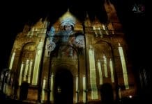 PowerAV proveedor audiovisual en el Antequera Light Fest