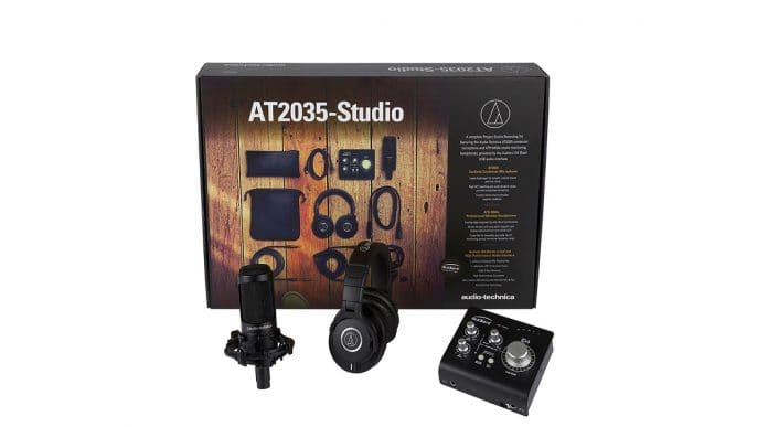 Audio-Technica y Audient se alían para proporcionar el Kit de Grabación para Home Studio definitivo