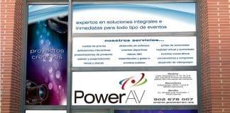 PowerAV, proveedor oficial de servicios y equipos audiovisuales en IFEMA.