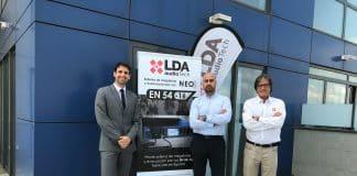 Nueva oficina comercial de de LDA Audio Tech en Madrid