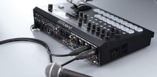 Roland presenta el conmutador de vídeo multiformato V 60HD en el NAB Show  Nueva York