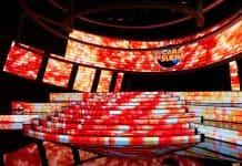 Pantalla de LED de SONO en el nuevo escenario de 'Tu cara me suena'