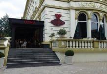 Ecler en el Restaurante Victoria de Bulgaria