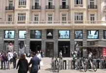 Adidas renueva su espectacular flagship en la Gran Vía de Madrid con un impresionante despliegue digital