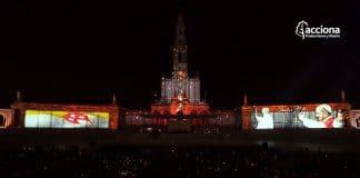Power AV colabora en el video mapping 'Fátima – Tiempo de Luz'