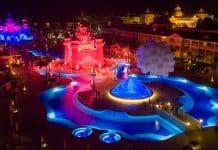 Luminarias SGM en el show mágico del Luxury Bahía Príncipe Fantasia