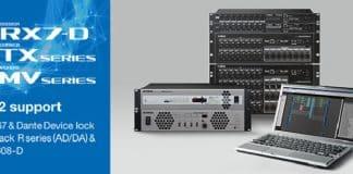Yamaha lanza nueva versión 3.2 de la serie MTX/MRX y la XMV