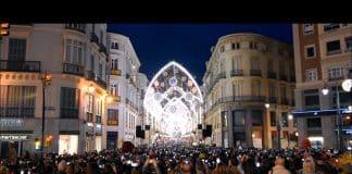 La Catedral de Málaga, luz y sonido espectacular para estas navidades
