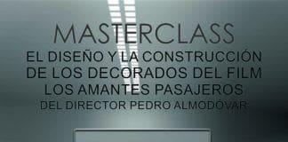 """ATAE organiza la MASTERCLASS: El diseño y la construcción de decorados del film """"Los amantes pasajeros"""""""