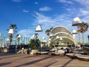 Marina Beach Club - sistema electro acústico