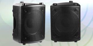 Caja acústica de alta potencia