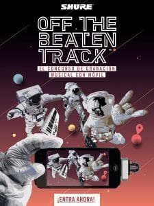 """SHURE , """"OFF THE BEATEN TRACK"""":"""