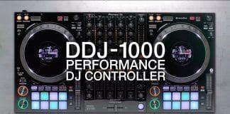 Descubre el controlador DDJ 1000, diseñado para rekordbox dj