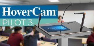 Nuevo Podio Digital Pilot 3 de HoverCam
