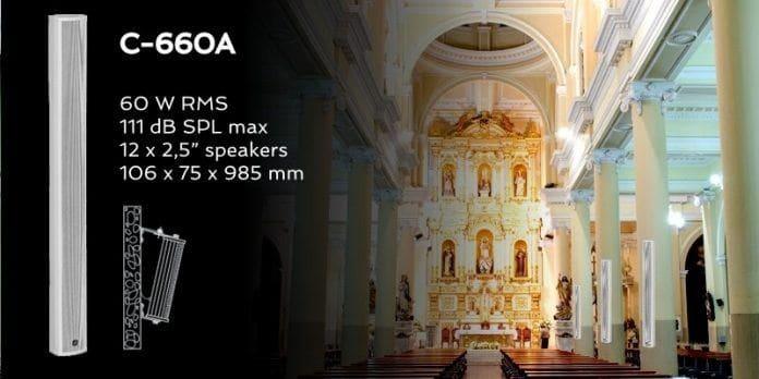 Crecen las Columnas Acústicas de la serie C-600A de Optimus