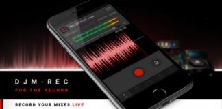 Pioneer Dj presenta DJM-REC, la nueva aplicación de grabación para iPhone e iPad