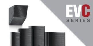 Nueva línea de Altavoces profesionales Electro Voice EVC Series