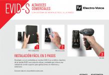 Nueva Línea de Altavoces Comerciales EVID-S