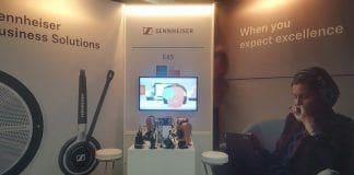 Sistemas de comunicación de voz de Sennheiser ,en Cisco Live