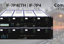 Interfaz de audio OPTIMUS serie COMPACT con conexión IP