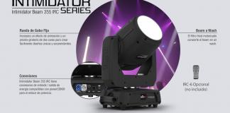 Nueva cabeza móvil intimidator Beam 355 de CHAUVETDJ.