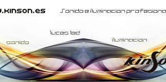 Catálogo de equipos de sonido e iluminación profesional de KINSON