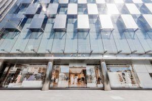Falgship store de Zara en el Paseo de la Castellana