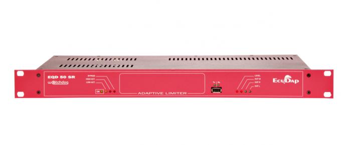 Limitador de sonido EQD 50SR Watchdog Digital, solución ideal para eventos