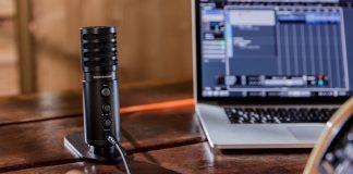 Micrófono de estudio USB de Beyerdinamic para grabación y podcasting