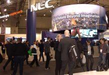 Eikonos, empresa de servicios audiovisuales, en el MWC con NEC