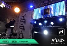 Power Light en AFIAL2018-Salón del Sonido e Iluminación profesional y la Tecnología Audiovisual