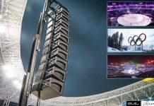 Torres Elevadoras para equipos de sonido GUIL en JJOO 2018