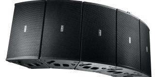 equipo de sonido profesional line array vertical/horizontal
